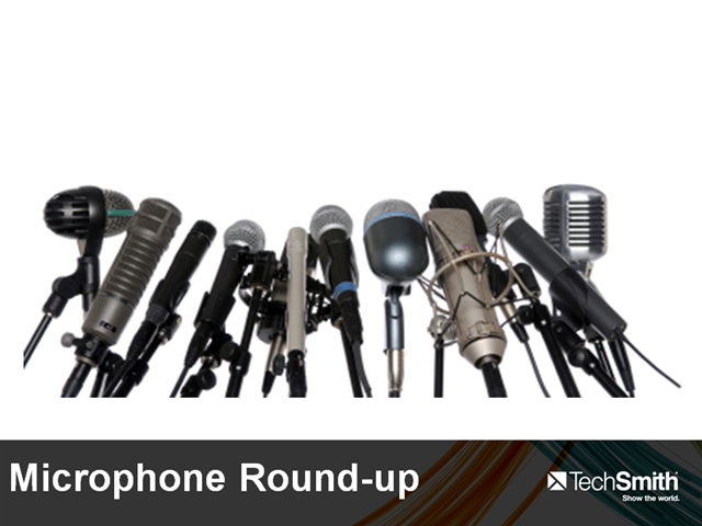 microphone roundup