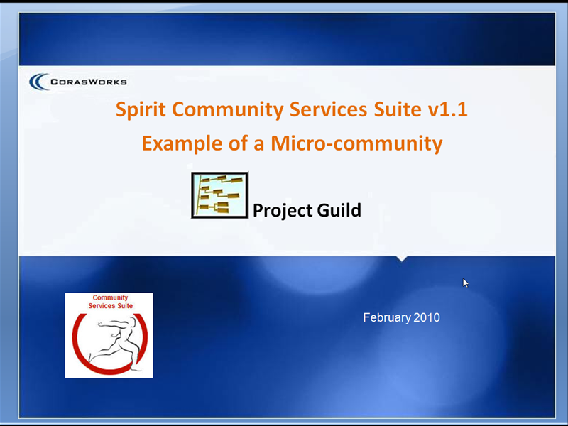 Project Guide with Spirit Micro-Community